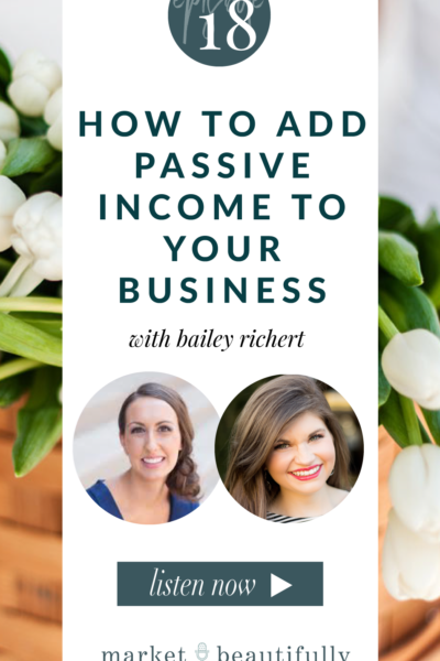 018 How to Add Passive Income to Your Business