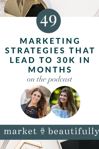 Episode 49 | Marketing Strategies that lead to 30k Months